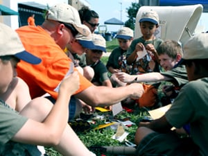 Scouts go to camp
