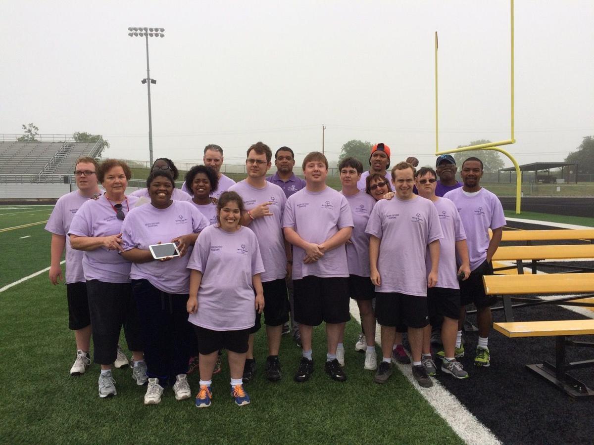 Killeen Cove Hood Phantoms Special Olympics team