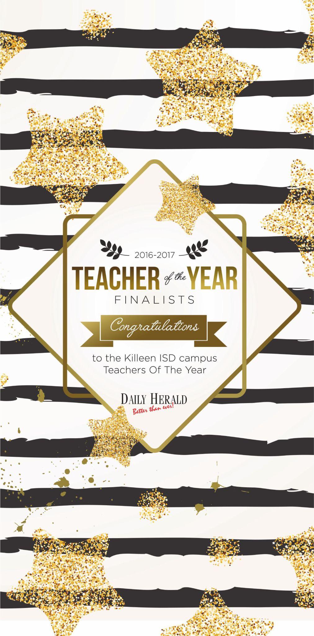 Teacher of Year 2017