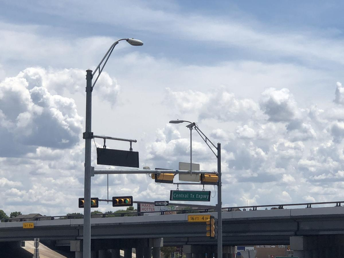 Clouds over Killeen