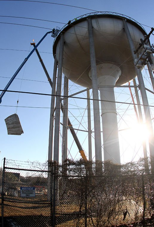 Dismantled Water Tower