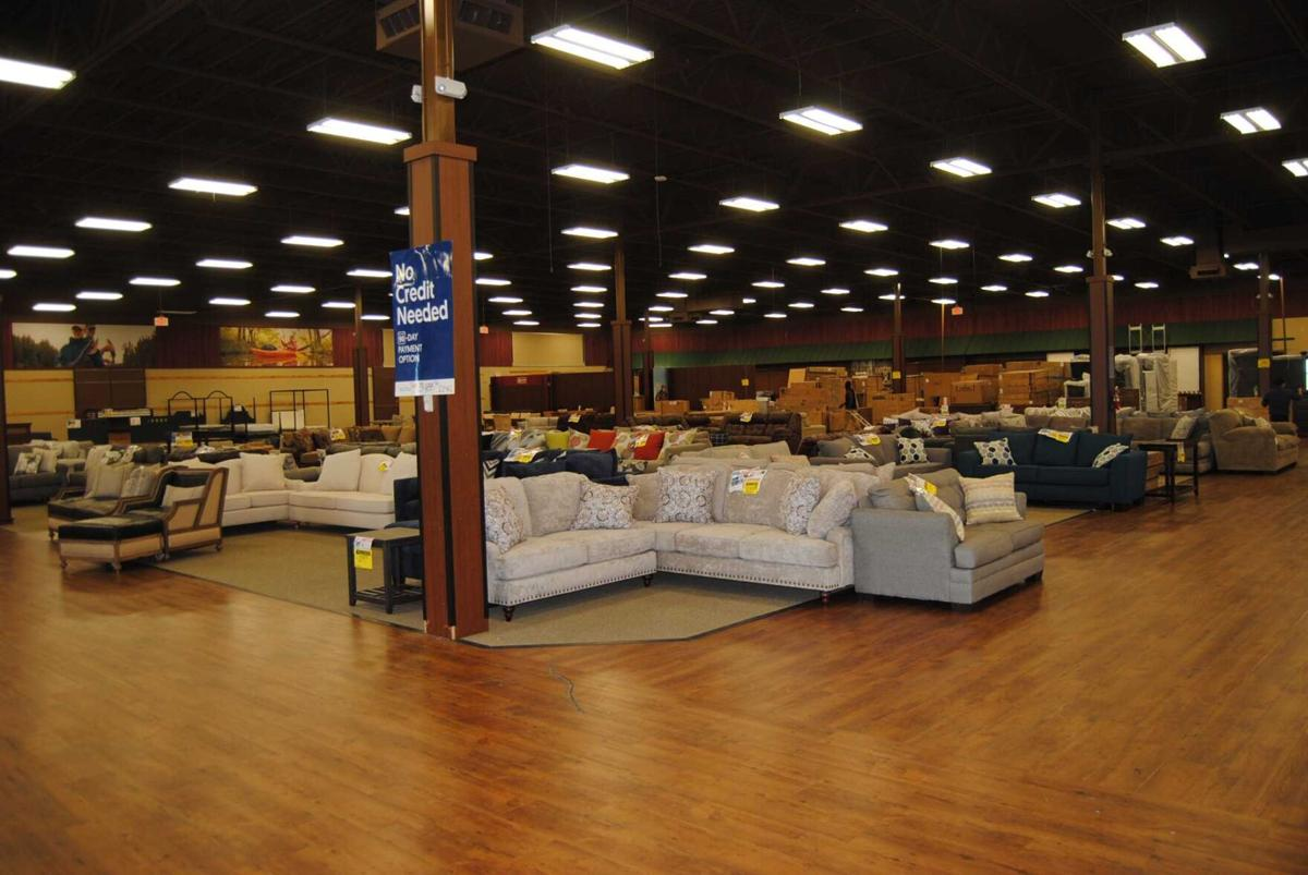 new furniture store occupying old