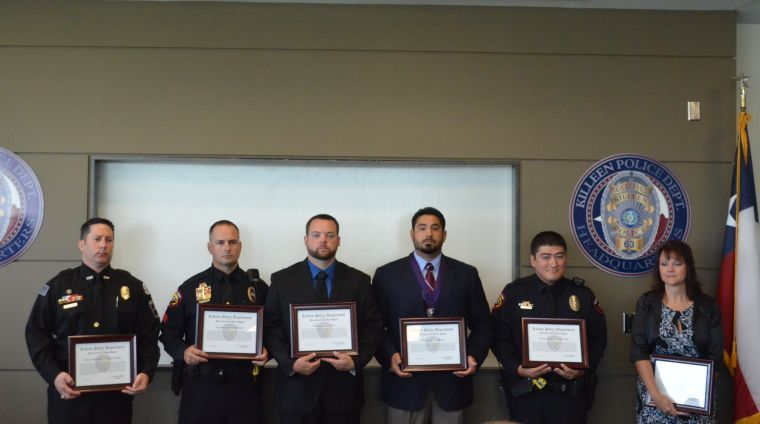 KPD awards officers for valor in July 2013 shootout