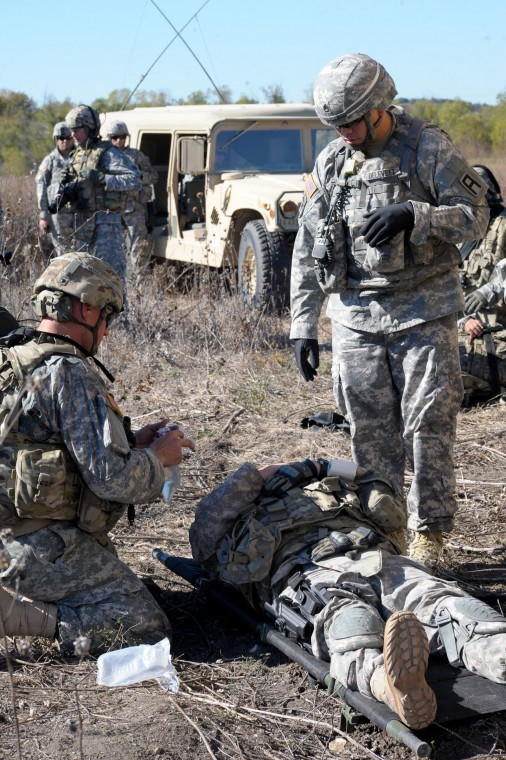 Training for Afghan mission