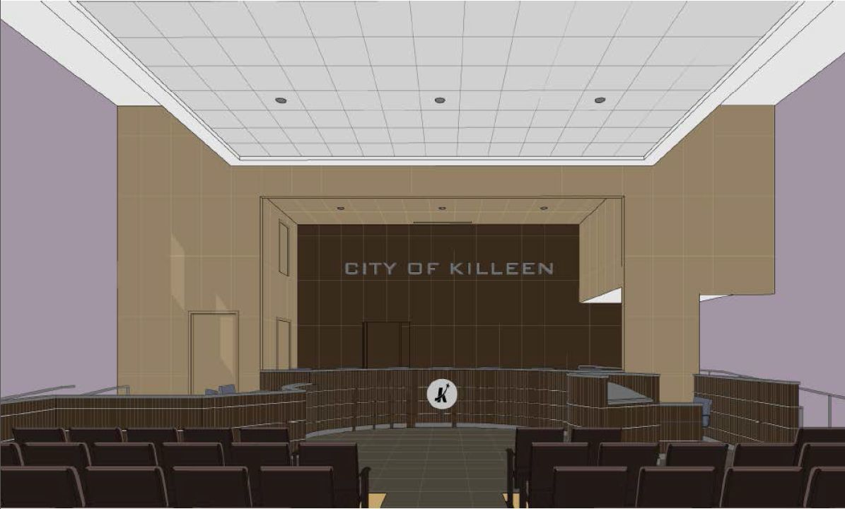 City releases plans for ambitious council chambers redesign local killeen council chambers malvernweather Choice Image
