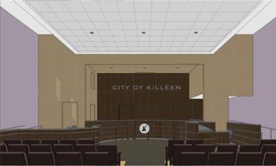 Killeen council chambers