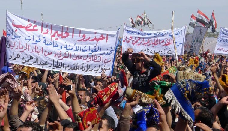 SUNNI PROTESTS IN IRAQ