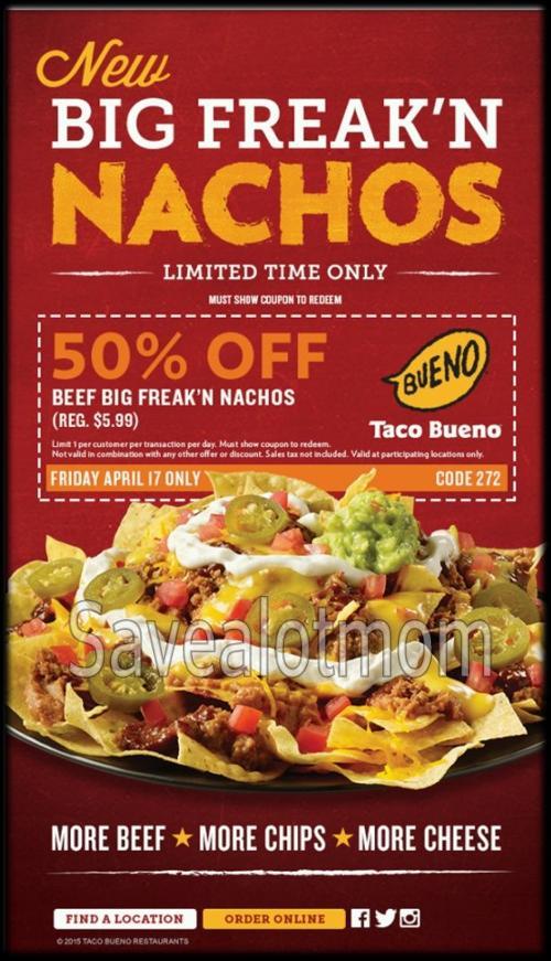 Taco Bueno   Save A Lot Mom   kdhnews com