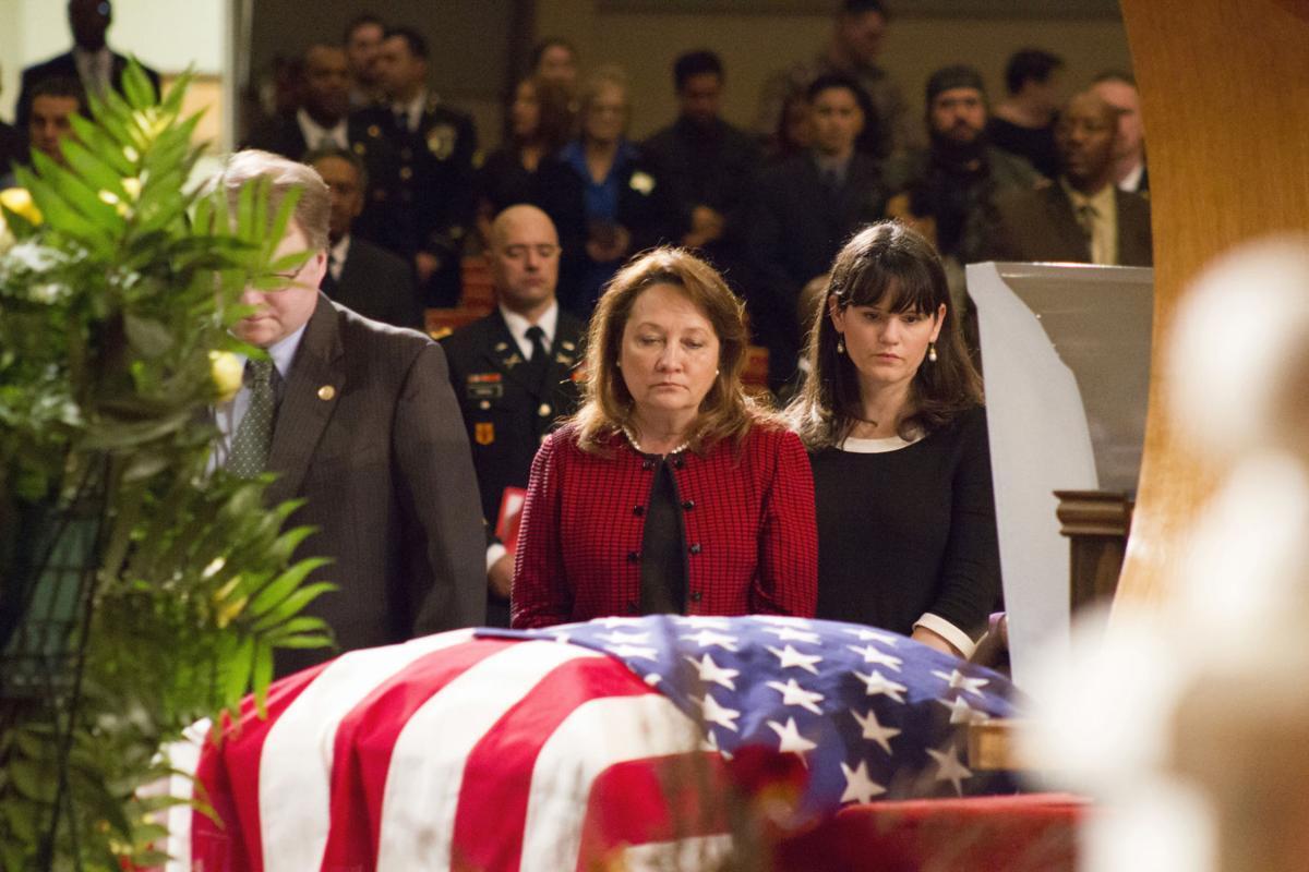 Hug Lady funeral