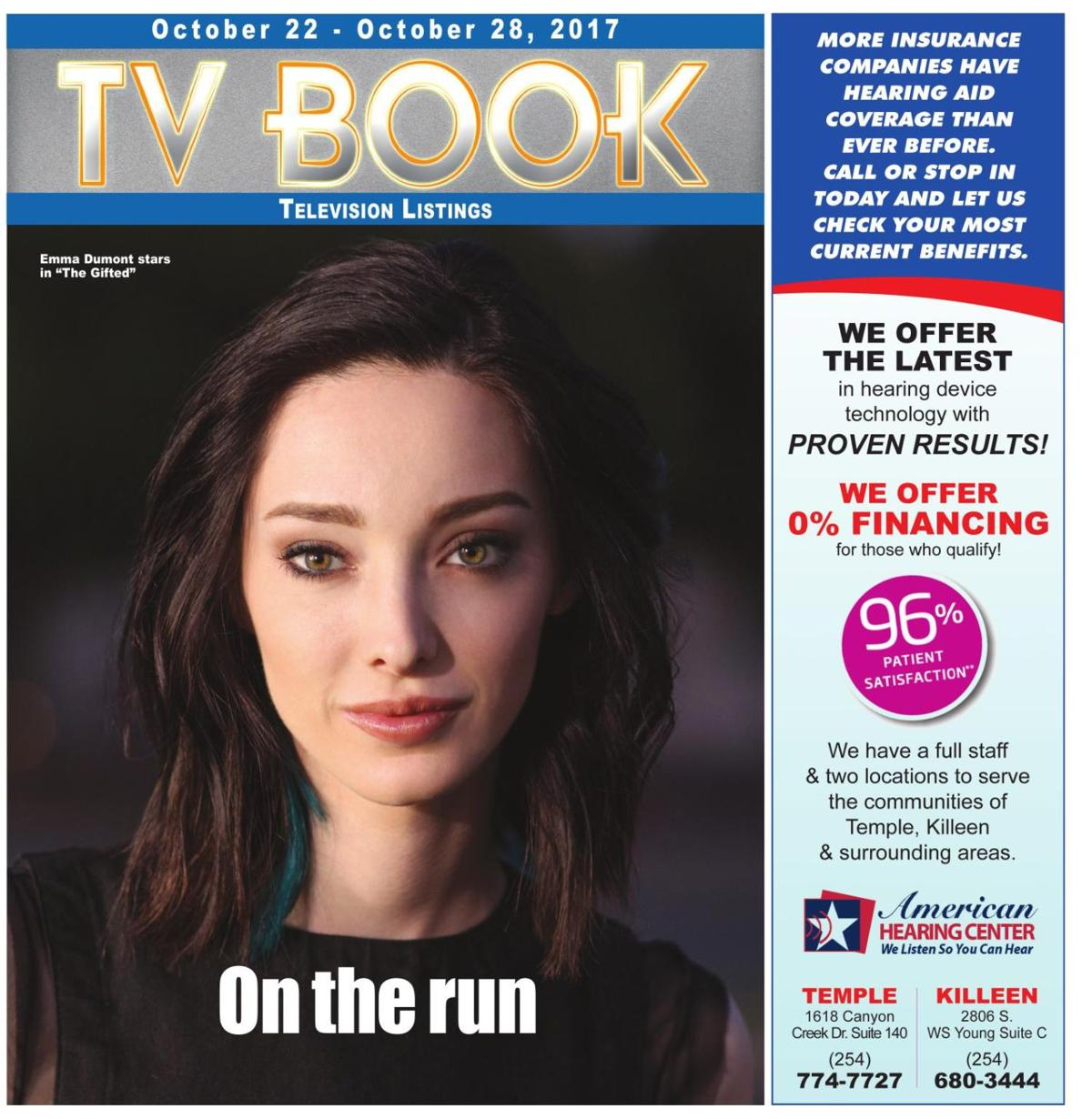 TV Book October 22nd - 28th