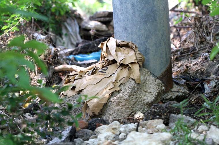 Nolan Creek polluted