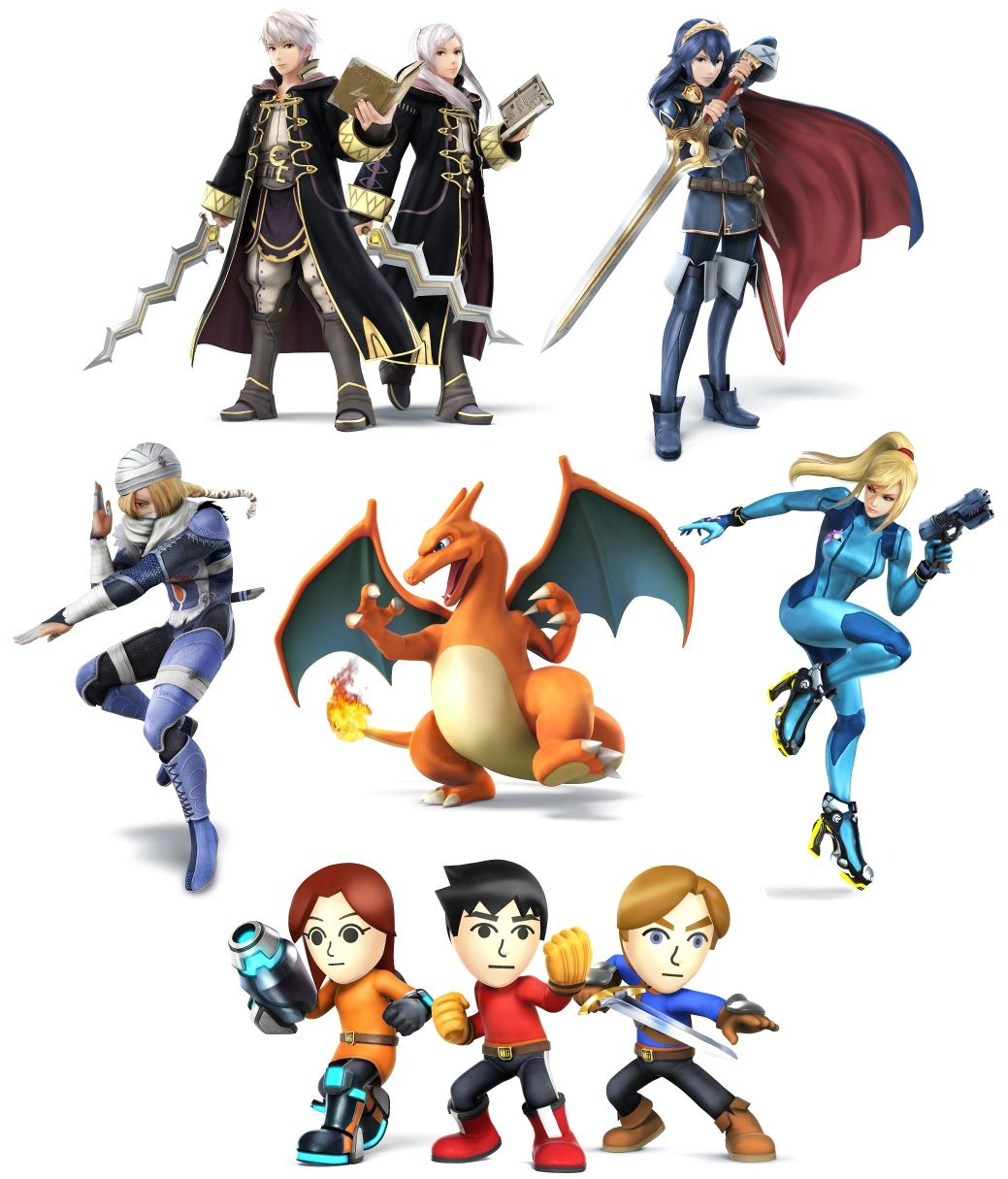 Photo: The Semi-Complete Guide to the Smash Bros 2014 Character Stable: Part 3