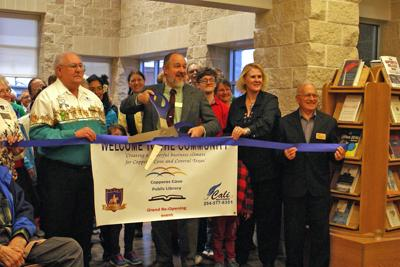 Cove library reopening