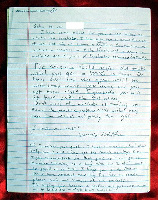 Hasan letter