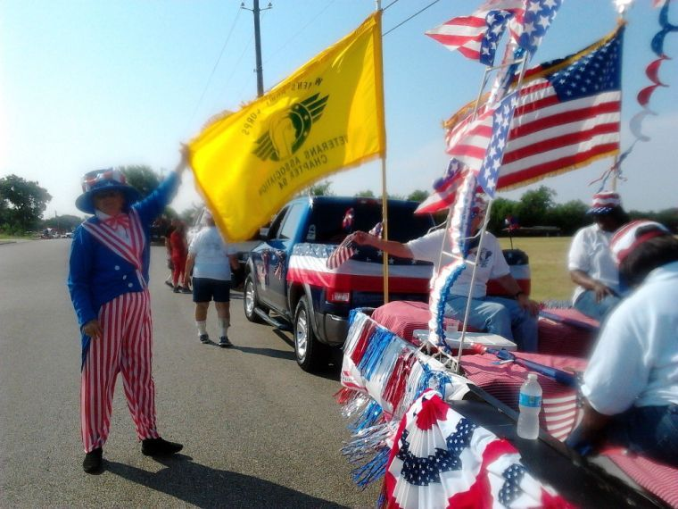 WAC Veterans parade float