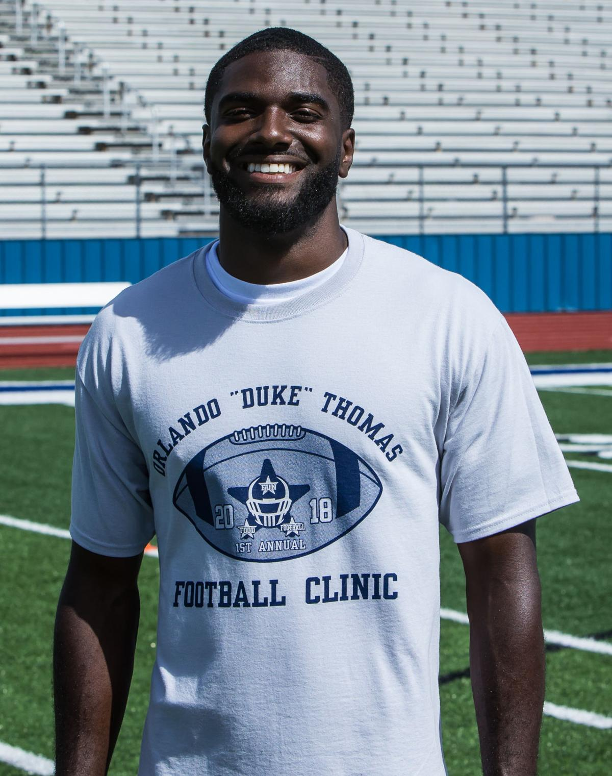 Duke Thomas Football Clinic