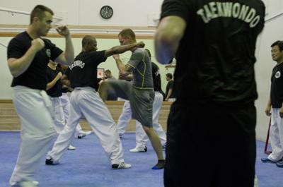 1st Cav soldiers hit the mats for taekwondo action | Front Lines