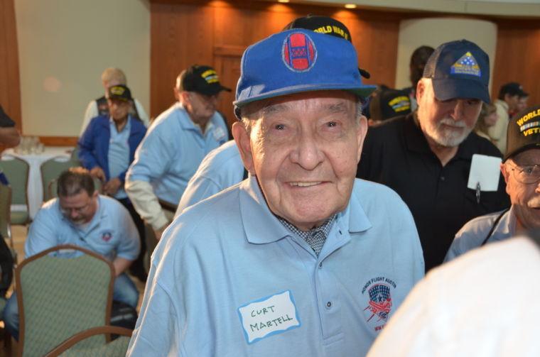 World War II veteran Curtis Martell