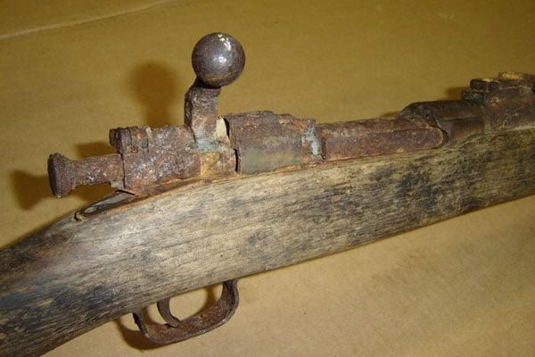 Rusty Rifle