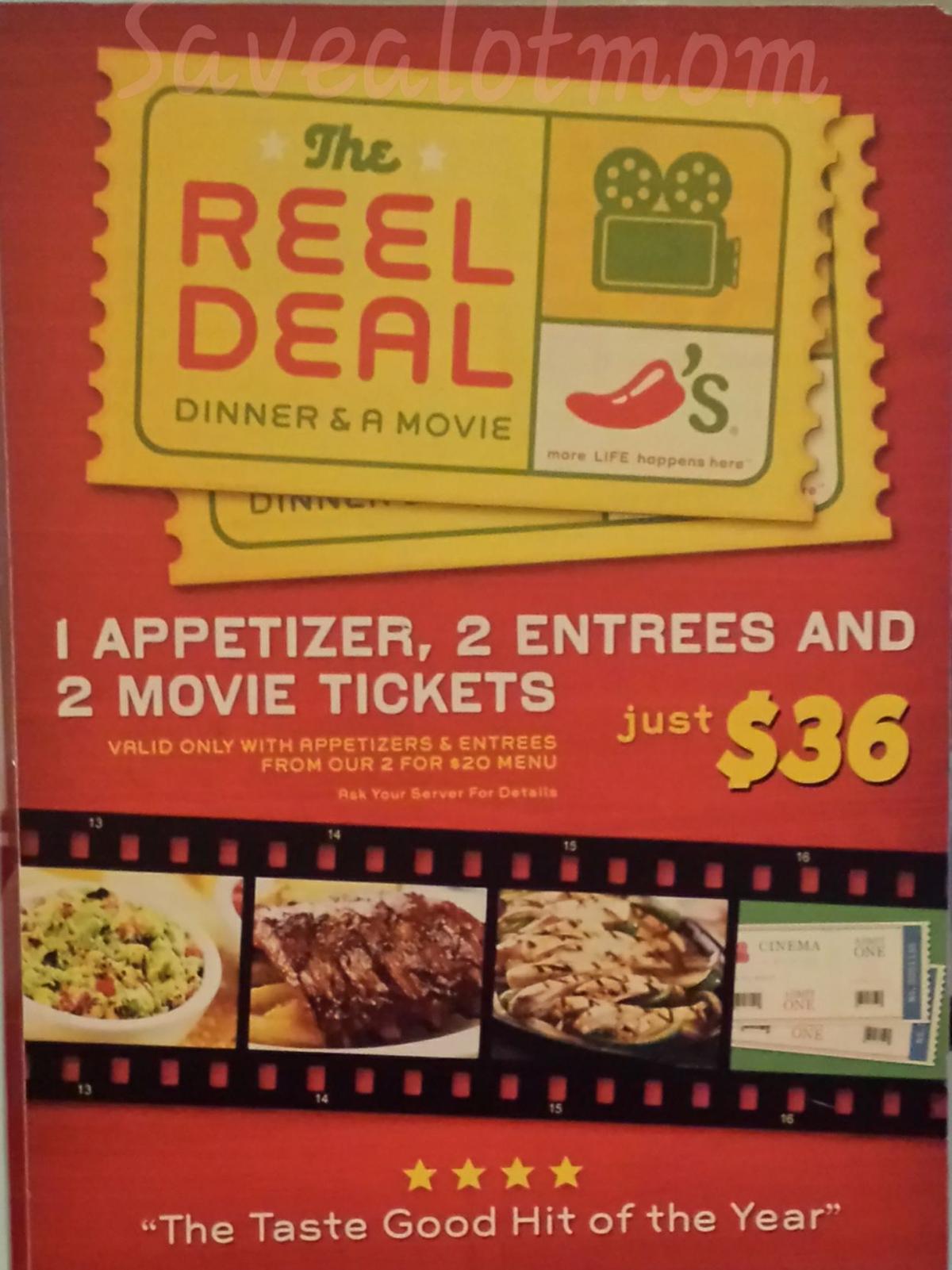 Chilis Deals!