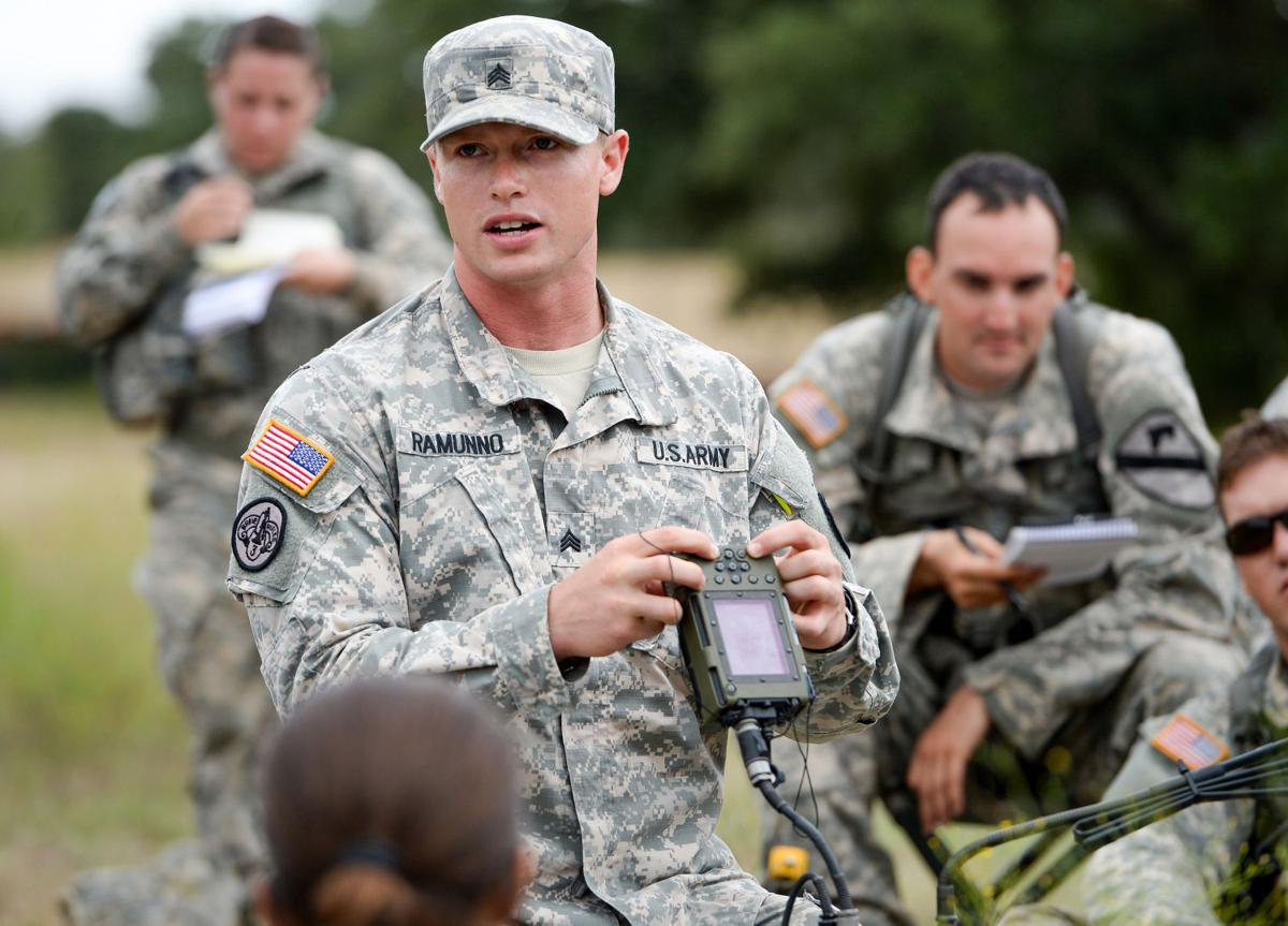Medics Compete For Earn Coveted Badge At Fort Hood Across The