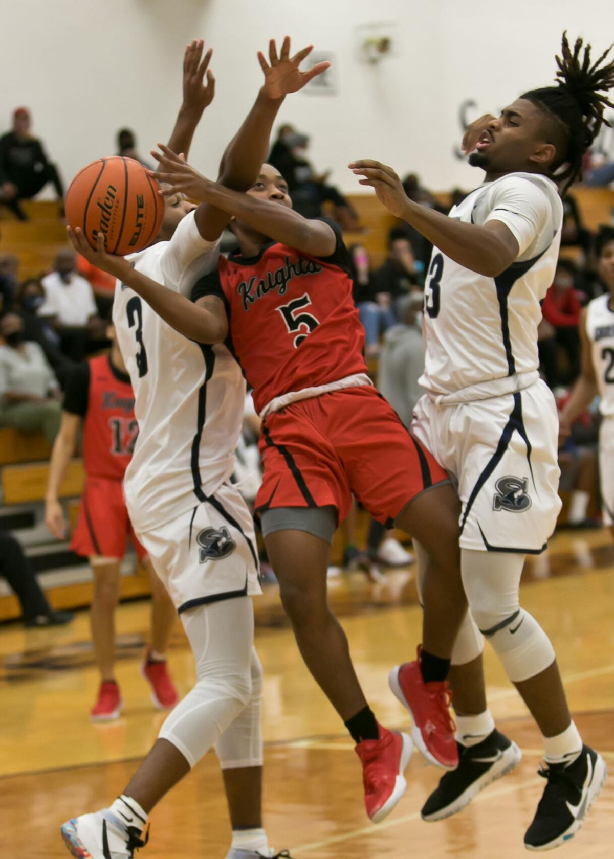 Harker Heights at Shoemaker Boys Basketball