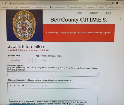 Crime page