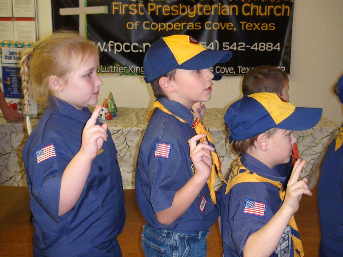 Girls join Cub Scouts