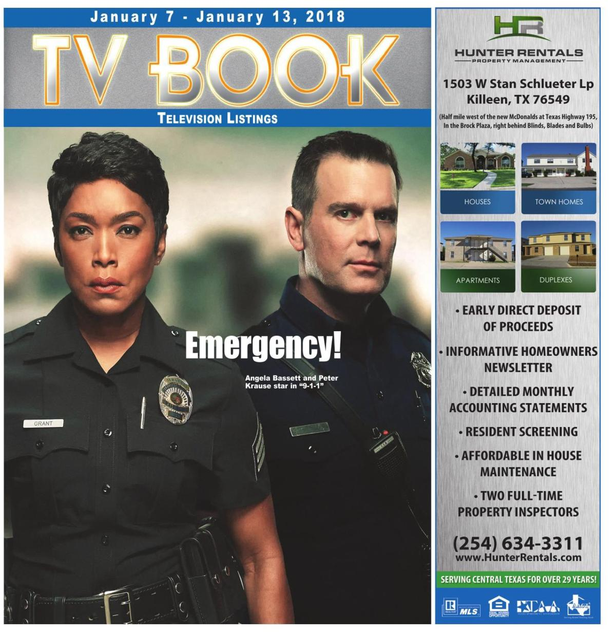 TV Book Jan. 7th - Jan. 13th