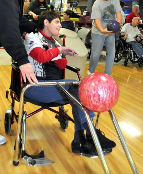 Special Olympics Bowling