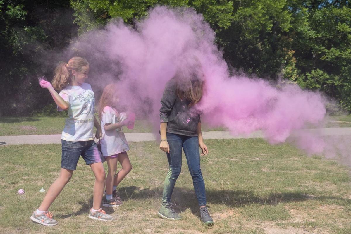 Girl Scouts 3K Color Fun Run