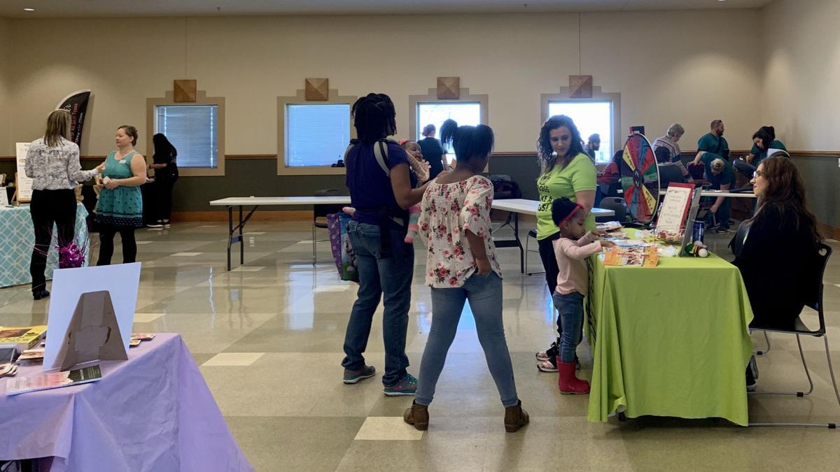 Heights lilbrary holds annual Health and Wellness Fair