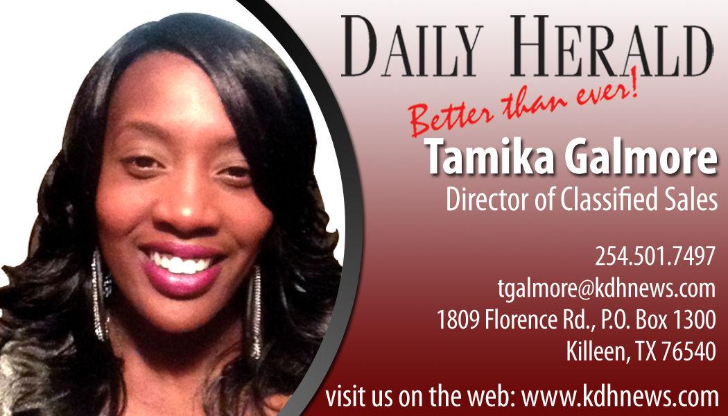 Tamika Galmore 254-501-7497 Killeen Texas