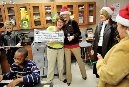 KISD foundation gives teachers $55,000 for 16 school projects