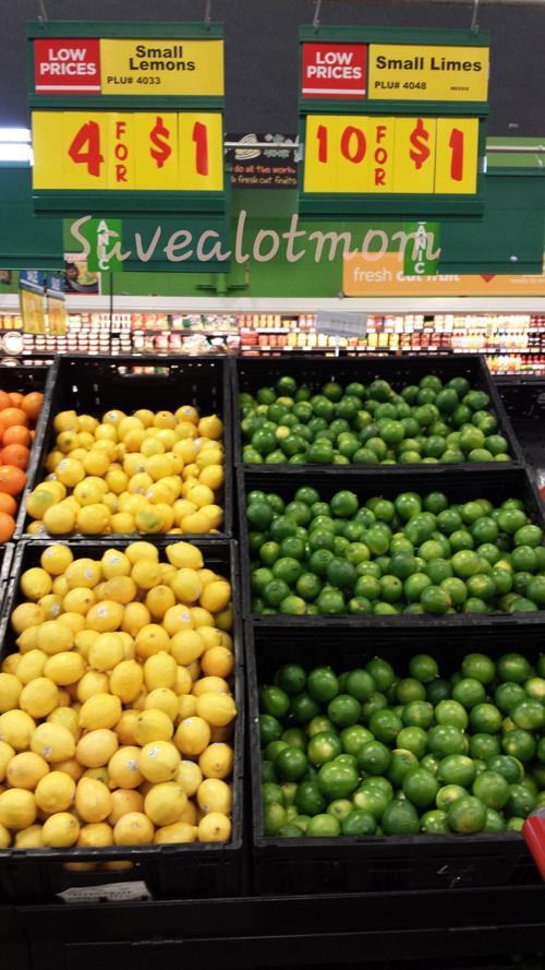 Lemons and Limes on sale!