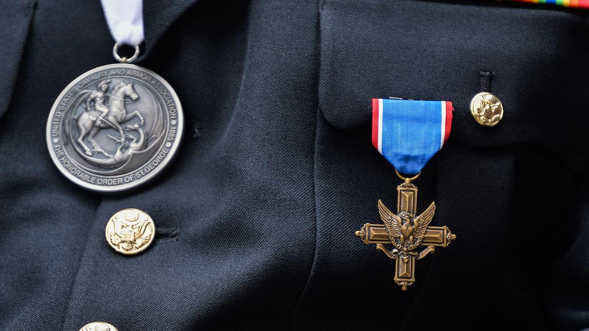 Former Fort Hood soldier receives Distinguished Service Cross