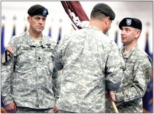Greene replaces retiring Salter at Warrior Transition Brigade