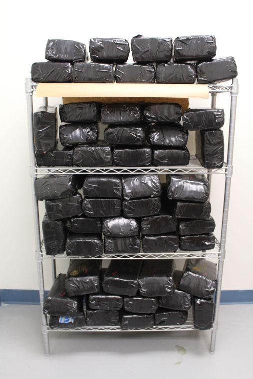 52 bricks of marijuana