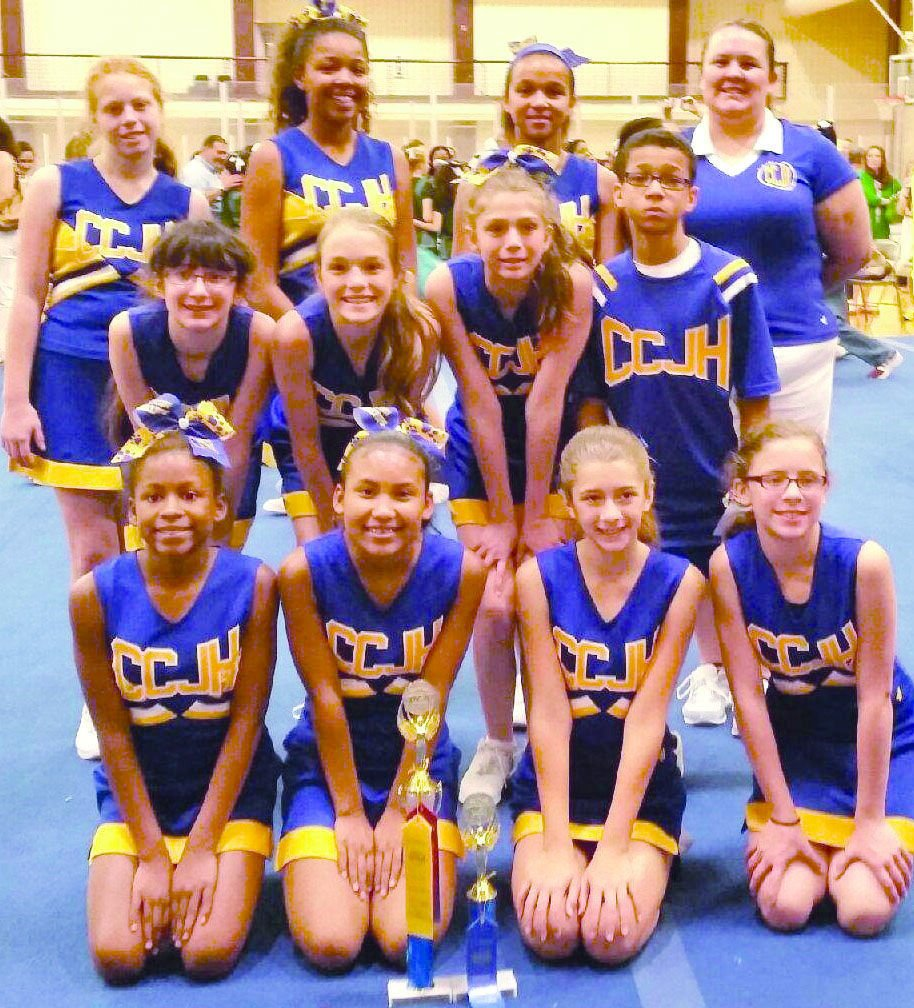 Cove Junior High cheerleaders make competition walk the ...
