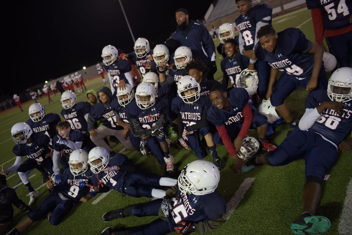 Seventh-grade football champs