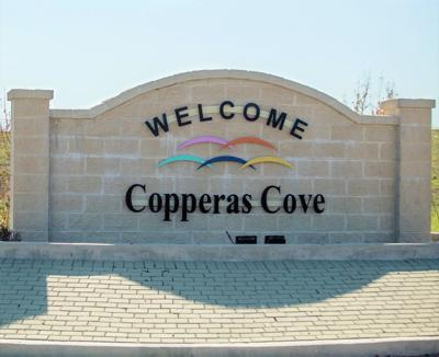 WELCOME TO COPPERAS COVE