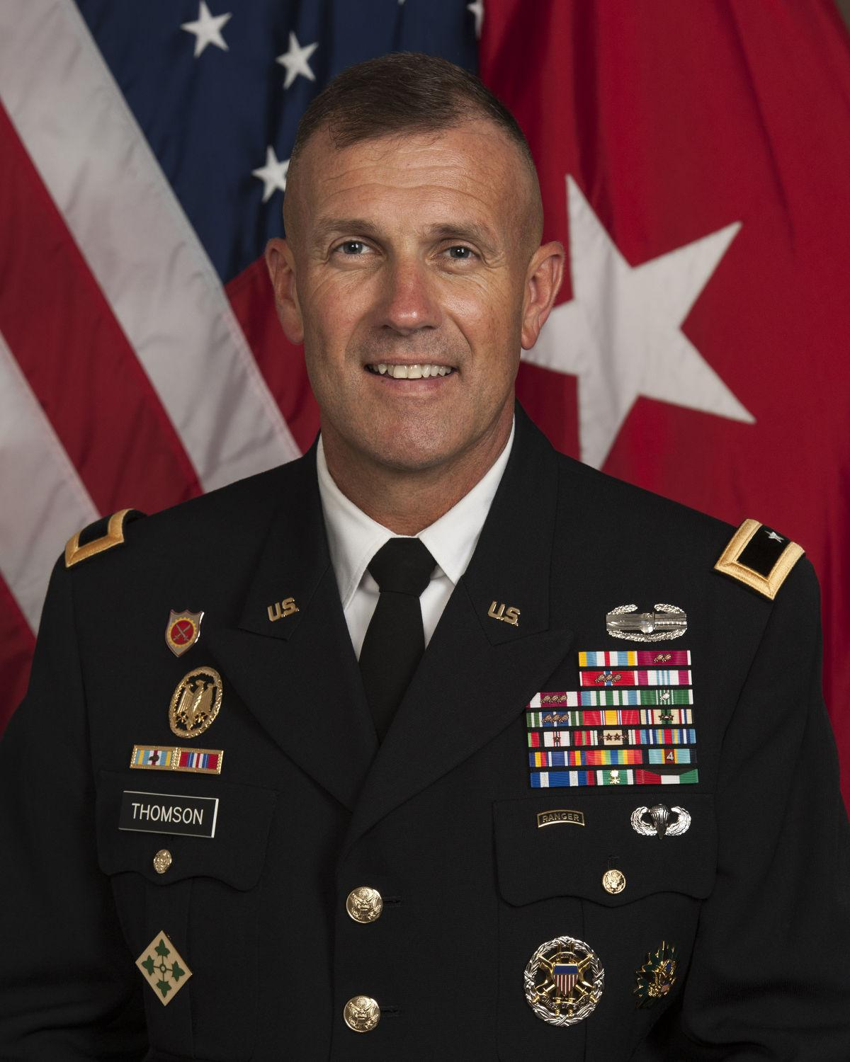 A look at the next 1st cavalry division commander across for Bureau commande