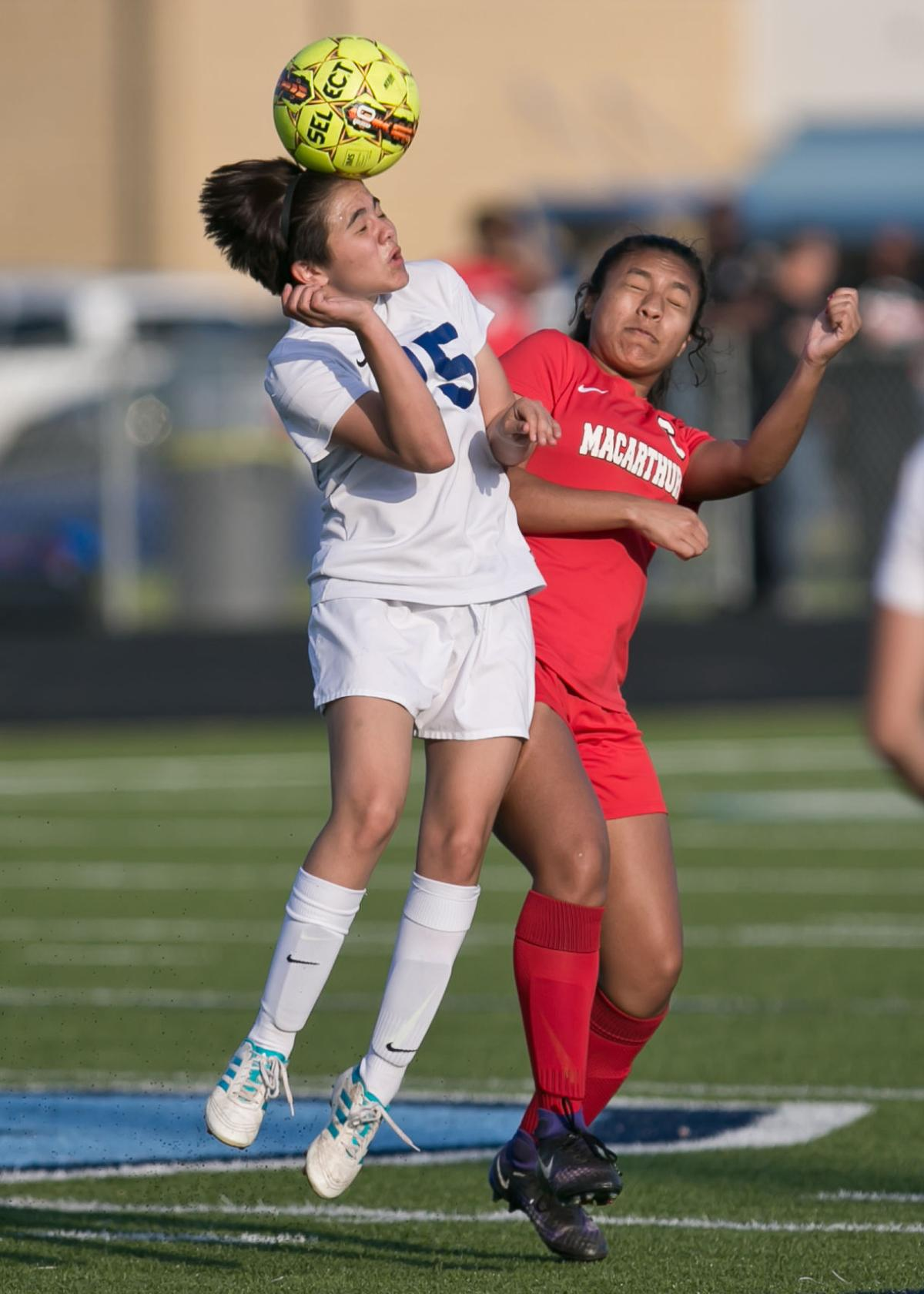 Copperas Cove vs. Irving MacArthur Girls Soccer Bi-District Playoffs