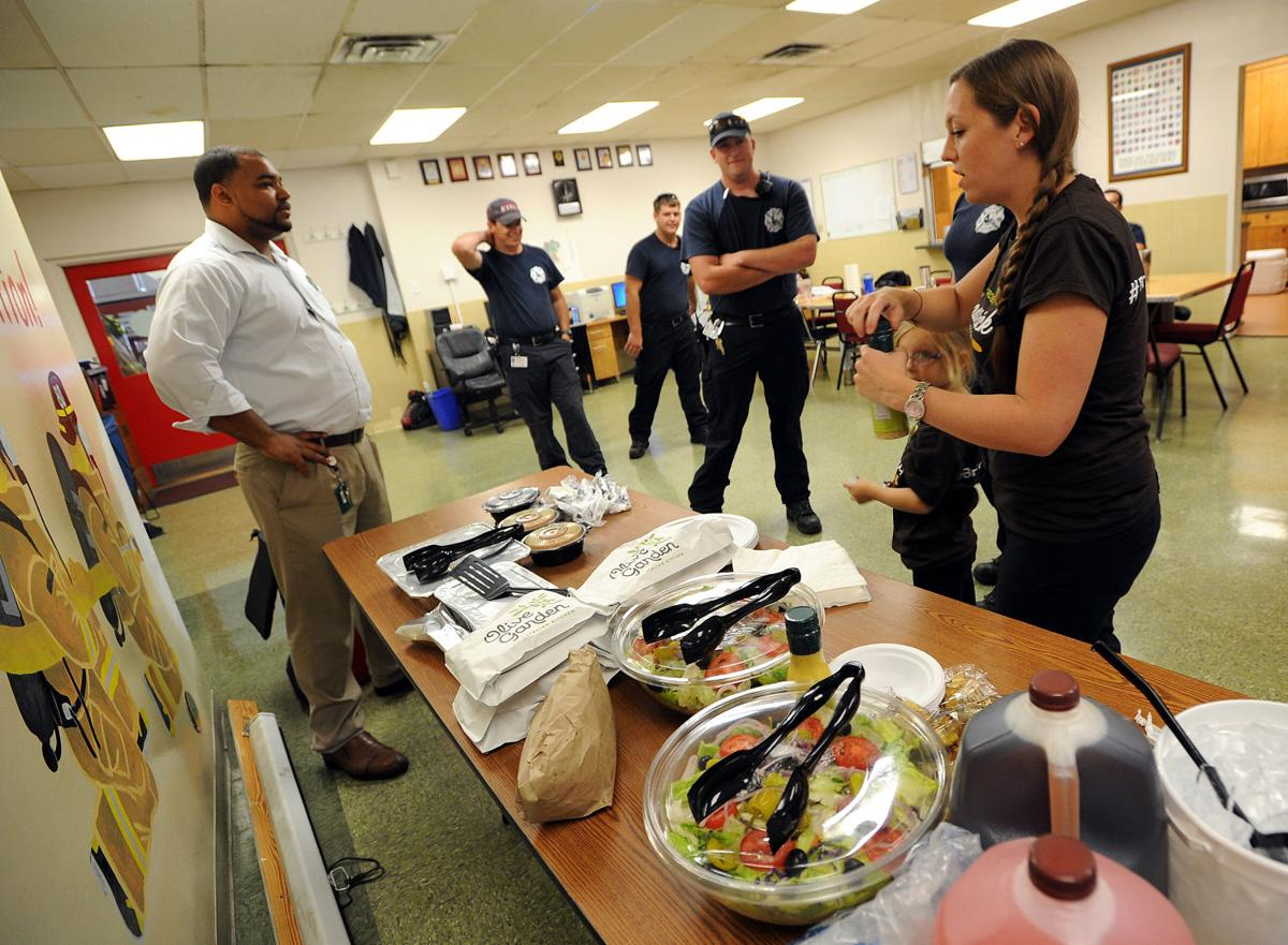 Olive Garden feeds firefighters
