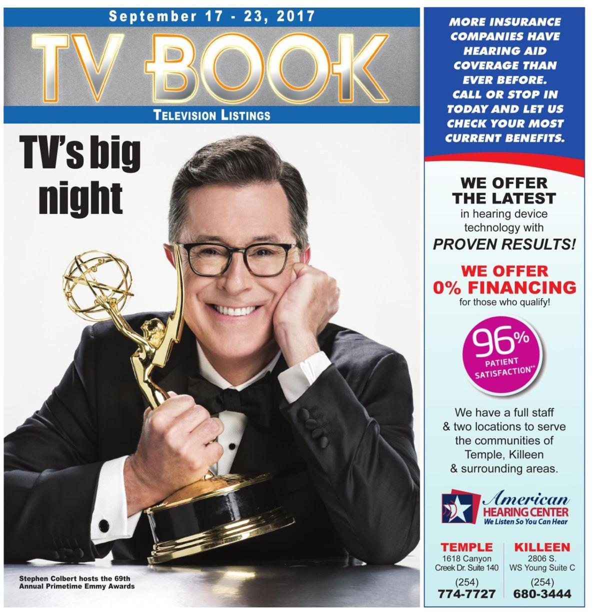 TV Book September 17th - 23rd