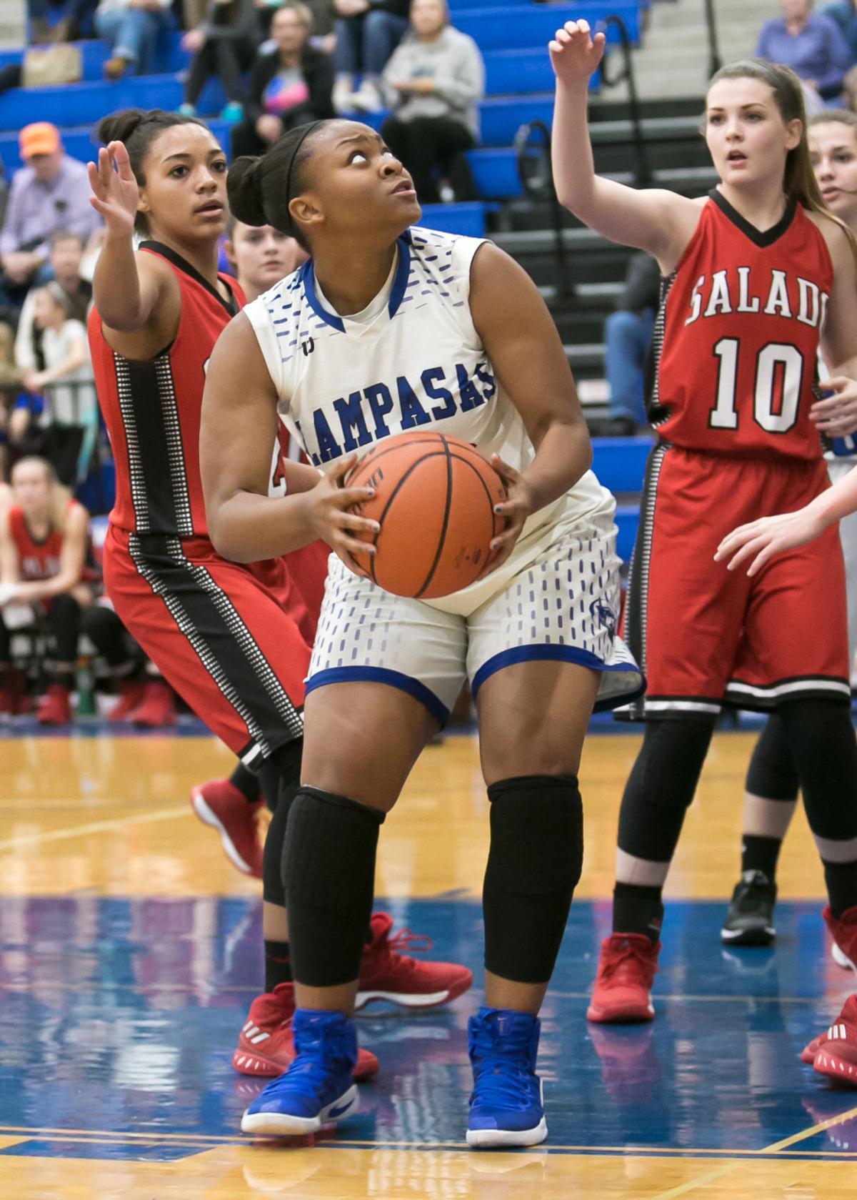 Salado at Lampasas Girls Basketball