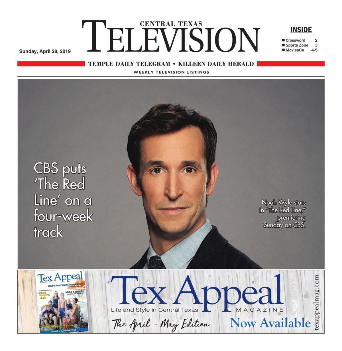 TV Book April 28th- May 4th