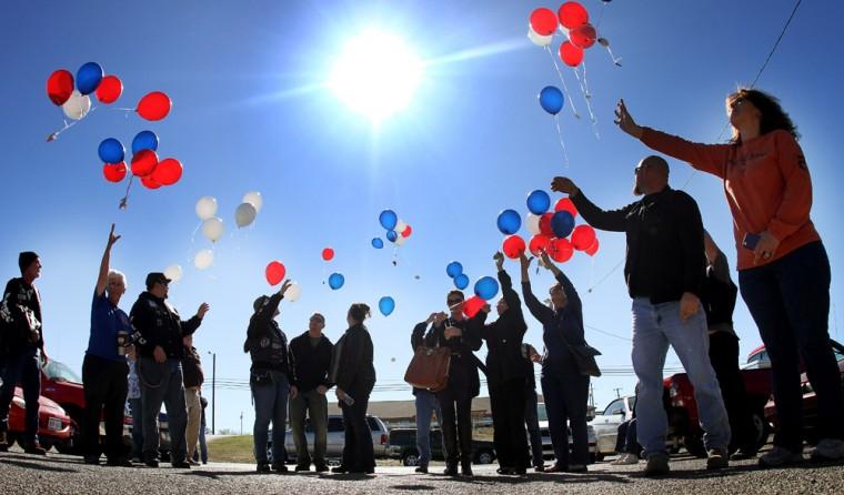 Veterans Day Ceremony at American Legion post 573