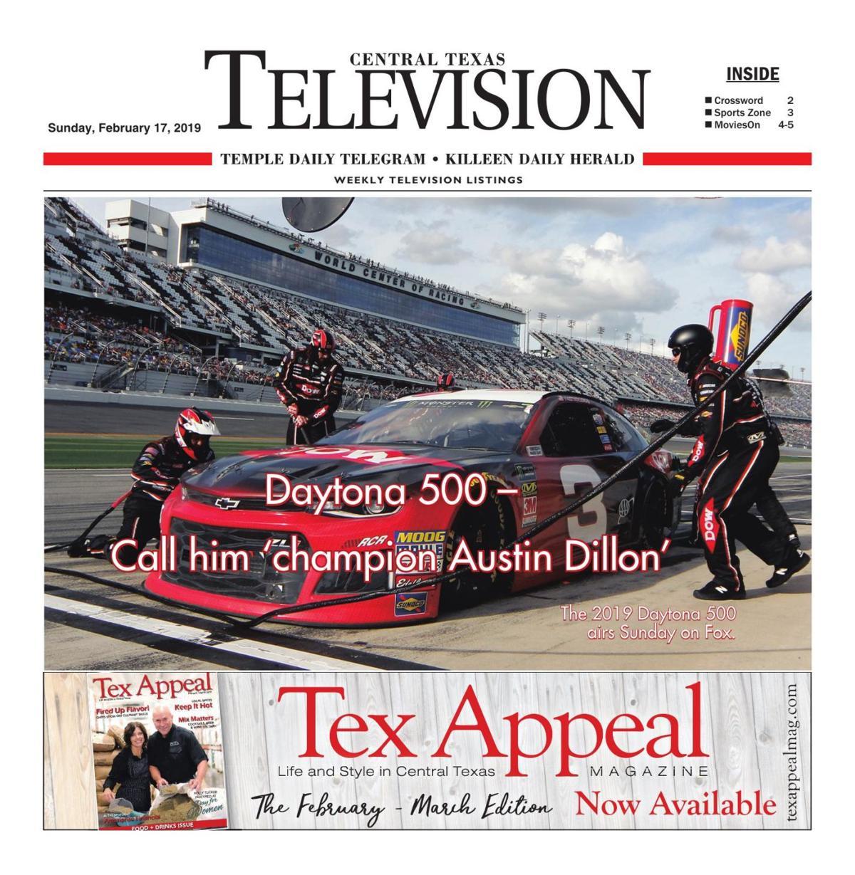 TV Book Feb. 17th- 23rd