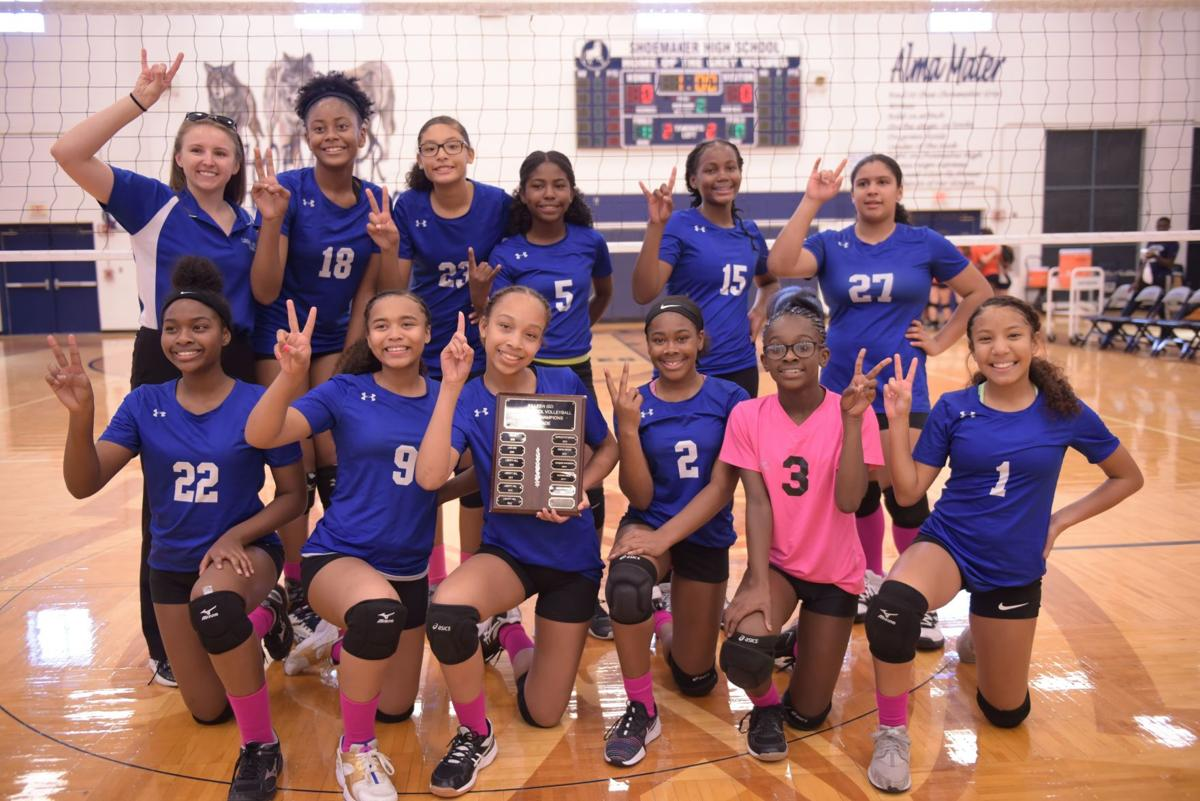 Eighth-grade volleyball champs